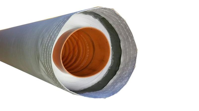 ISH-Aluminium-Schlauch